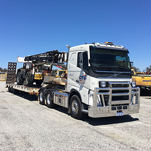 Tri-Axle Low Loaders